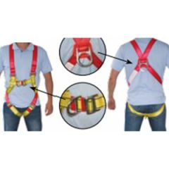 Vest-Type Safety Harness with Chest D-Ring