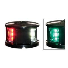 LED Nav Light Tricolor w/Black Cover