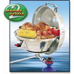 BBQ Marine Kettle 2 Grill Combination Stove & Grill Gas Original Size
