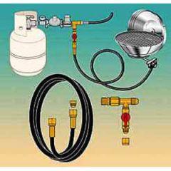 LPG (Propane) Hose Conversion Kit 10 ft (3 m)