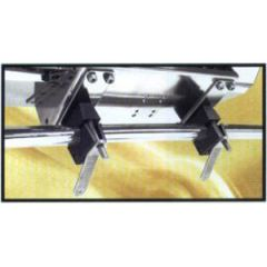 "Dual Mount Table Rail Mount Horizontal Round 1 1/8""/1 1/4"" (28.5 mm/32 mm)"