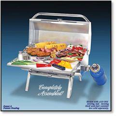 BBQ Grill ChefsMate Connoisseur Series Gas Original Size