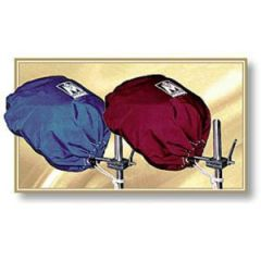 "BBQ Grill Cover For Rectangular Grills Sunbrella Captain's Navy 9"" x 18"""