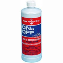On & Off Hull & Bottom Cleaner Liquid 1gal