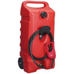 Flo n' Go Wheeled Fuel Transport w/10 ft Hose 14 gal