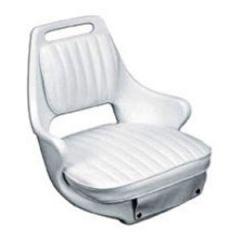 """Helm Chair, Cushion Set White 21 1/2"""" x 20 1/2"""" x 19 1/2"""""""