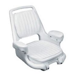 "Helm Chair, Cushion Set White 24"" x 23 1/2"" x 22 1/4"""