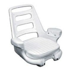 "Helm Chair, Cushion Set White 24"" x 23 1/2"" x 22 1/4"" Cut"