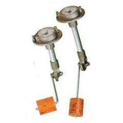 "Swingarm Mechanical Sending Unit w/Direct Sight Gauge 11 3/4"""