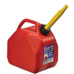 Self Venting Jerry Jug Red 2.5 gal