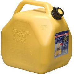 Self Venting Jerry Jug Diesel Yellow 5 gal