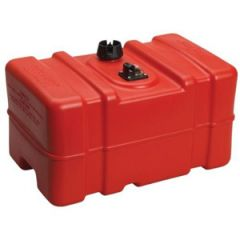 Topside Portable Fuel Tank Tall Red 12 gal