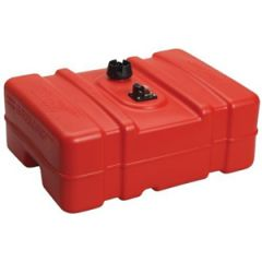 Topside Portable Fuel Tank Short Red 12 gal