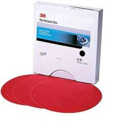 "Red Hookit Disc 5"" 40 Grit"