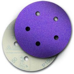 "Purple Abrasive Disc Dust Free 6"" 36E Grit"