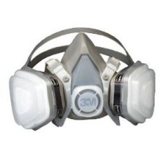Dual Mask Respirator Assembly Disposable Large 07193