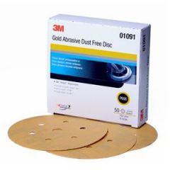 Clean Sanding Dust Free Pad With Hookit 6""
