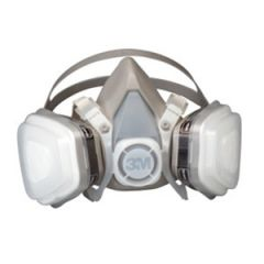 Dual Cartridge Mask Respirator Reusable Medium