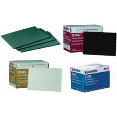 Scotch-Brite Light Cleansing Pad Maroon