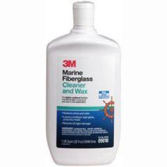 Fiberglass Cleaner & Wax Liquid 16 oz