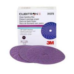 """Cubitron II Clean Sand Hookit 6"""" Disc 150+ Grit"""