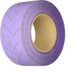 Cubitron II Clean Sand Hookit Sheet 70mm Wide 80+ Grit, Sold per Foot