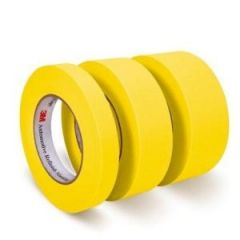 Refinish Masking Tape Yellow 18mm