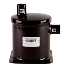 """Naqualift Exhaust Muffler/Silencer Side/Top Outlets Fiberglass 2 1/2"""""""
