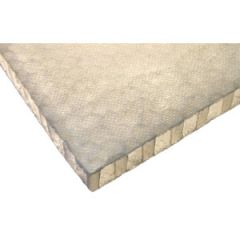 "Nida-Core H8PP Honeycomb Polyester Scrim 10 mm (3/8"") 4 ft x 7 ft"