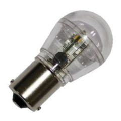 Bulb Led Bay15D 10-35Vdc 1.2/10w Cool White 25x48mm