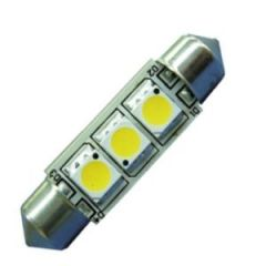 Bulb Led Festoon 42mm 10-30Vdc 0.6/5w Warm White
