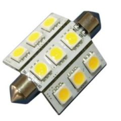 Bulb Led Festoon 42mm 10-35Vdc 2.0w/15w Warm White