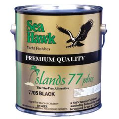 Islands 77 Plus Antifouling Tin Free Hard Ablative Black 1 gal