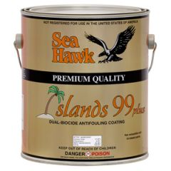 Islands 99 Antifouling Dual Biocide Ablative Black 1 gal