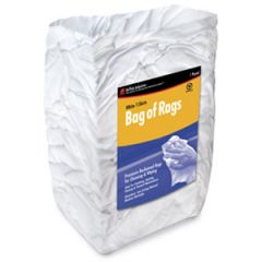 Cloth Wipes New White Bag 25 lb