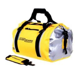 Waterproof Yellow Duffel Bag 40 L
