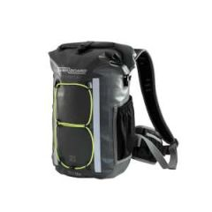 Waterproof Black Technical Backpack 20 L Carbon Gray