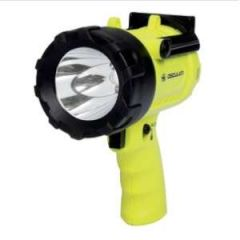 Pistol Grip LED Spotlight, Watertight