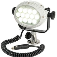 LED Spotlight w/2 m Extension Cable & Stainless Steel Base Waterproof