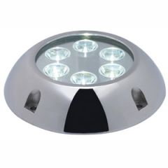 LED Underwater Light 316 Stainless Steel Round White 30W