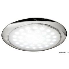 LED Ultra Flat Ceiling Light w/Touch Switch Flush Mount White Round