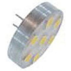 LED Back Pin Bulb G4 10 LED White 12-24V