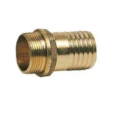 "Brass Hose Adapter 3/8"" Thread X 10 mm Male Hose"