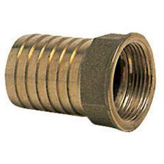 "Connector Brass NPTF x Barb 1/2"" x 15 mm"