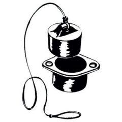 Drain Plug w/Valve 36 mm