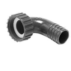 Swivelling Hose Adapter Straight 25 mm