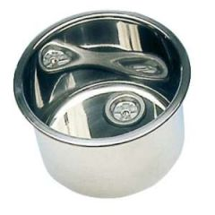 Round Sink, Stainless Steel 385mm x 180mm Deep