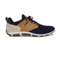 """Fastnet"" Shoe, Navy/Tan Men's 11"