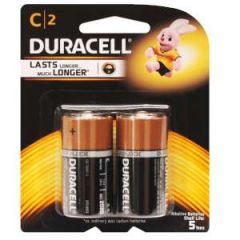 Alkaline Coppertop Batteries C-Cell 1.5V 2/pk