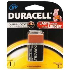 Alkaline Coppertop Batteries 9V